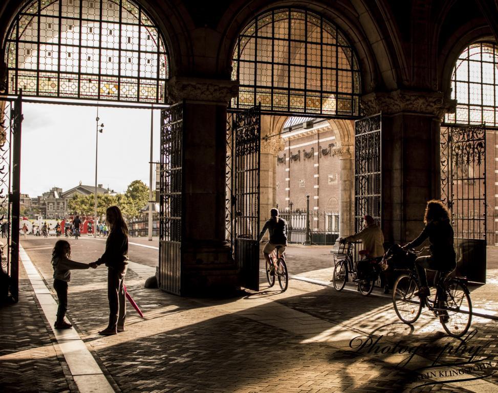 Rijksmuseum, Blick in den Park